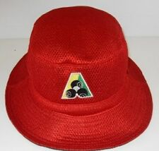AVENEL mesh BOWLS HAT red - cool and comfortable QUALITY