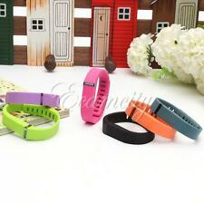 Large/Small Replacement Smart Wrist Band w/ Metal Clasp For Fitbit Flex Bracelet