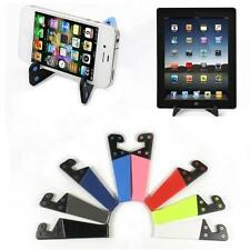 Universal Foldable Mobile Phone Stand Holder + Winder For Smart Phone Tablet PC