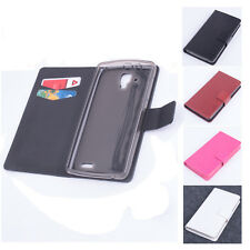 Flip Stand Leather Protective Cover Case For Lenovo A536 Smartphone Hottest