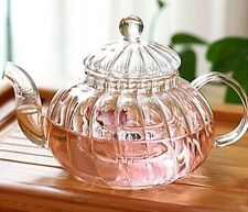 Borosilicate Glass Tea Pot, Teapot or Tea Set with Double Wall Glass and Warmer