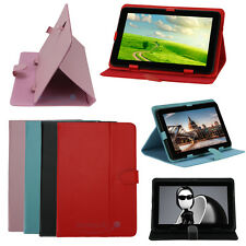 """10"""" 10.1"""" 10.2"""" Leather Protective Stand folio Case Cover for Android Tablet PC"""