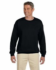 Gildan Heavy Blend 8 oz Sweatshirt 50/50 Fleece Crew Neck S-2XL MG180
