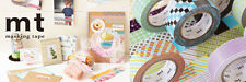 Kamoi mt Japanese Washi Tape 15mmx10m ( masking tape ) DECO Series