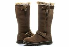 """New! Skechers Womens Keepsakes- """"Easy Peasy"""" Tall/Mid Calf  Boots in Taupe C17"""
