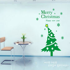 Christmas Tree removable window wall decor stickers decals 3 colors option