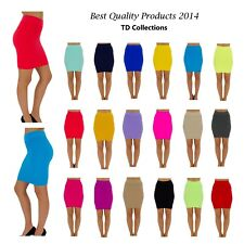 Hot Sexy Mini Skirt Slim Seamless Stretch Tight Short Fitted Candy Dress Skirt