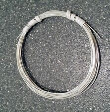 "SOLID 999 Fine Silver ROUND Wire  6""- 40' Gauges 8 thru 30 Dead Soft USA MADE"