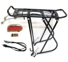 "Bike Bicycle Alloy Luggage Rear Rack Carrier Pannier 24 26 27 28"" 700c"