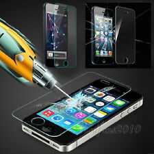 New Screen Protector Hard Tempered Glass Film Clear 0.3mm for iPhone4 4S 5 5S 5C