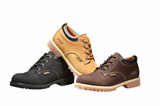 FREE SHIPPING KINGSHOW MEN'S SHORT WORK BOOTS WITH GENUINE LEATHER 7006