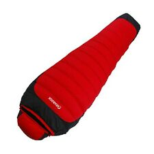 Adult New Duck Down Mummy Sleeping Bag -25 -15 0 Degree Outdoor Camping