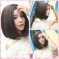 Fashion Women' Sexy Short Straight BOB Hair Full Cosplay Wig Party  Wig +Cap