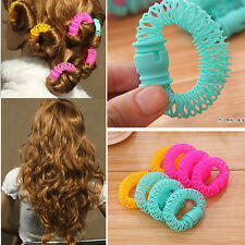 Women Bendy Hair Styling Roller Curler Spiral Curls DIY Tool 8 PCS Hairdressing