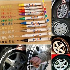 Permanent Car Motorcycle Bike Tyre Paint Pen Tire Tread Waterproof Marker 2.5mm