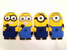 Despicable Me Minion Soft Silicone Rubber Case cover for iPhone 5,5C,5S