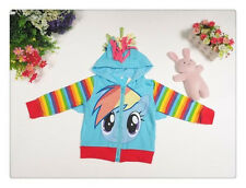 My Little Pony rainbow hooded top