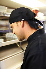 CHEF WORKS HEAD WRAP TIES IN BACK ONE SIZE FITS MOST SCBL