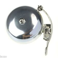 New Classic Retro Loud Round Bicycle Bell Metal In Gold And Silver Tinkling Bell