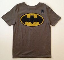 GAP KIDS Gray Licensed DC Comics Gray Batman Short Sleeve Shirt Boys NWT