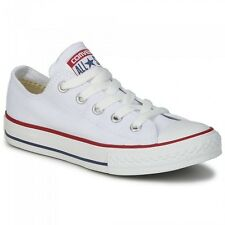 Converse M7652C Bianche Basse Optic White Tela Classic All Star ox unisex