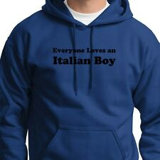Everyone Loves An Italian Boy T-shirt Funny Heritage Italy Gift Hoody Sweatshirt