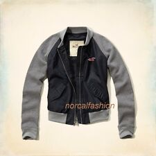 NWT HOLLISTER WOMENS JACKETS blue-gray color SIZES XS, S, M, L