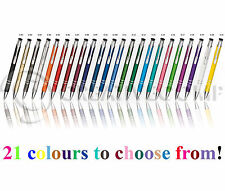 Promotional Personalised Laser Engraved Metal Ballpoint Pen 21 colours!