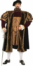 Henry VIII Adult  Mens Costume King Medieval Ancient Movie Theme Party Halloween