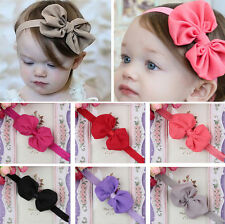 Cute Kids Girls Baby Toddler Infant Hair Bow Flower Headband Band Accessories