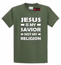 Jesus Is My Savior Not My Religion Christian Religious T Shirt God Prayer Shirt