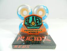 Alien Workshop 50mm Sacred Geo Dyrdek Skateboard Wheels + Bones Reds Bearings