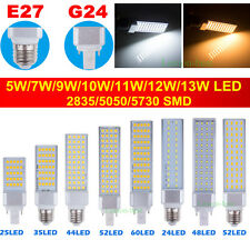 E27 G24 5W 7W 9W 10W 12W 5050 5730 SMD LED Bombillas Light Lampes Foco Downlight