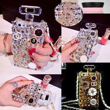 DIY Luxury Bling Crystal Diamonte Bottle Shape Case Cover for 5S 6 note 2/3/4 S5