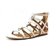 Armani Jeans VW523 Womens Leather Gladiator Sandals Shoes