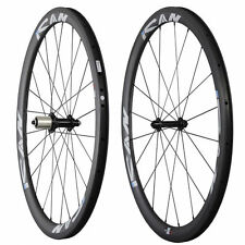ICAN Carbon Wheels 40mm Clincher 20/24H Sapim CX-Ray Spokes Super light