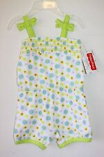 NWT Fisher Price Baby Girl Romper Outfit 3-6 Months Sleeveless Shortall Beach