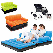 Double Sofa Air Bed Combination Guest Sleepover Mattress Lounge Student