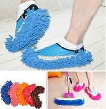 Washable Lazy Mop Slipper Dusting Cleaning Foot Shoes Wipe Clean Floor Polishing