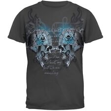Battle Skulls Graphic Youth T-Shirt Top