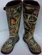 Drake MST Side Zip Knee-High Mudder Boots - Max-4 Camo - Insulated - DW265202