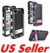 Ballistic iPhone 5 Hard Core Case w/Belt Clip Holster Drop Protection Tough Case