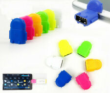 Universal Android Phone Tablet Robot OTG Adapter Converter Micro USB To USB 2.0