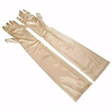 Over-Elbow Costume Satin Wedding Party Bridal Banquet Long Finger Gloves 1 Pair