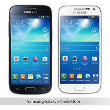 Samsung Galaxy S4 mini GT-I9192 - Dual Sim - 8GB (Factory Unlocked) White Black