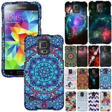 For Samsung Galaxy S5 G900 i9600 GRAPHIC DESIGN SNAP ON Hard Shield Case Cover