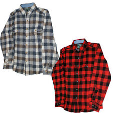 Woolrich Men's Wool-Blend Buffalo-Plaid Shirt 6135 Winter Warm Button-Front Mens
