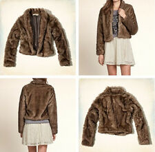 NWT Hollister by Abercrombie & Fitch Marina Park Faux Fur Jacket, S, M, L