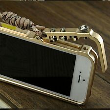 LUXURY ALUMINUM METAL  HARD FRAME BUMPER CASE COVER For iPhone 5, 5S, 6 , 6 PLUS