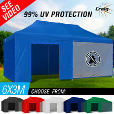 NEW Craig 3x6 m Outdoor Gazebo Folding Marquee Tent Canopy Pop Up Party